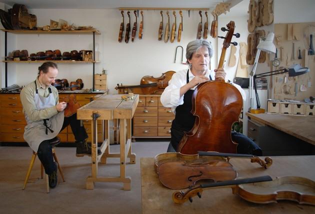 Atelier de luthier – construction et restauration – violons, altos et violoncelles