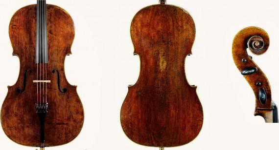 violin Matheo Goffriller 1710