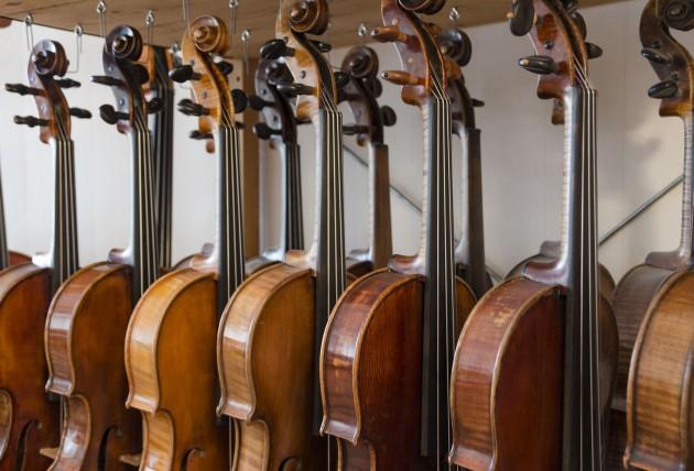 Violons anciens prestigieux comme Bergonzi, Guadagnini, Storioni, Grancino, Goffriller, Montagnana