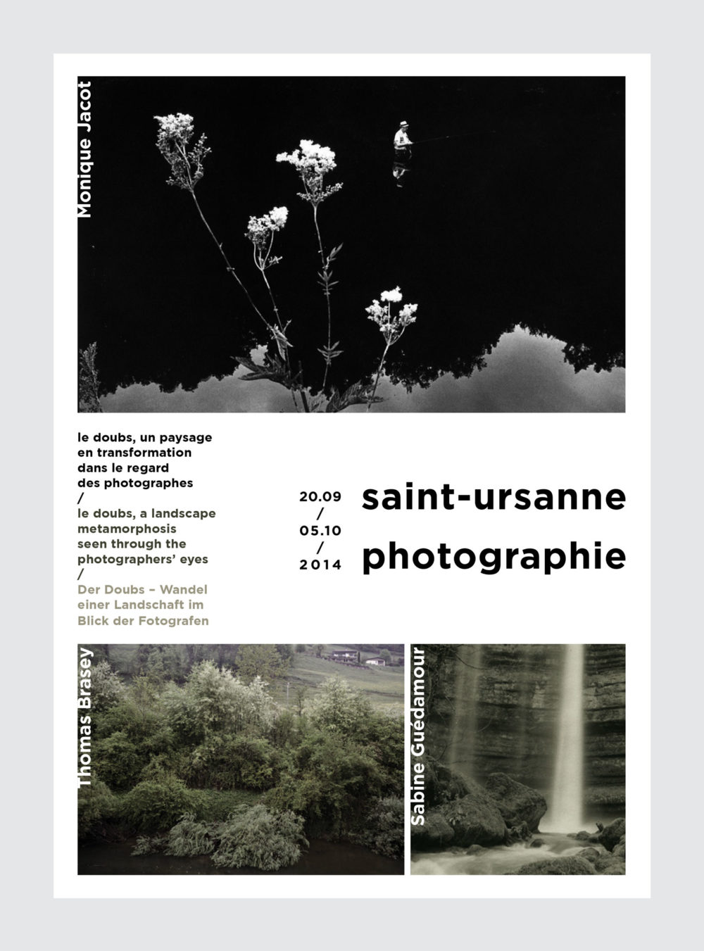 Saint-Ursanne photographieaffiche